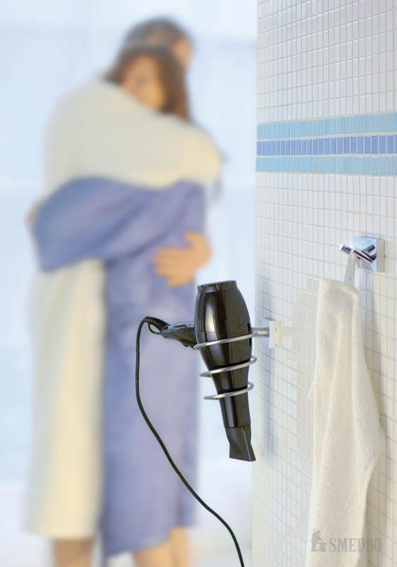 smedbo- hair dryer holder