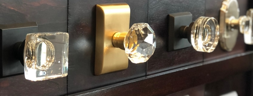 emtek crystal knobs
